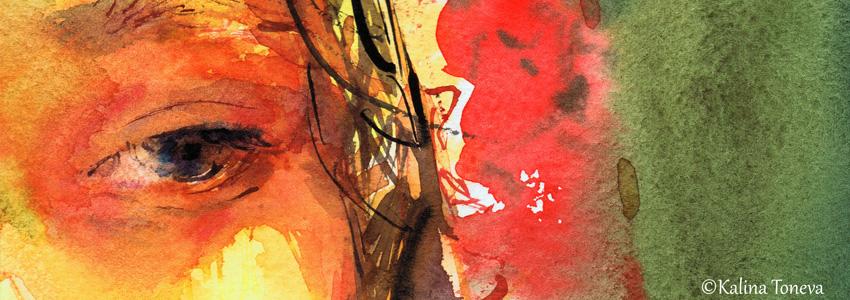 Нежност и вдъхновение в акварелите на Калина Тонева