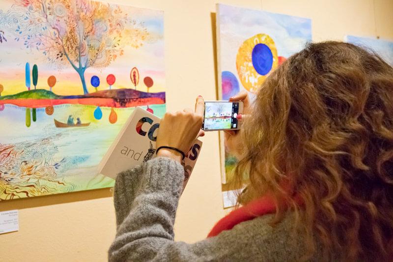 Изложба Colors and Lines