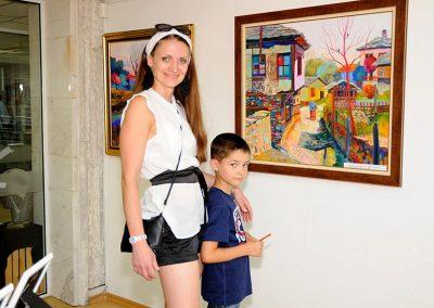 Изложба Ритъм и Цветове в Банско