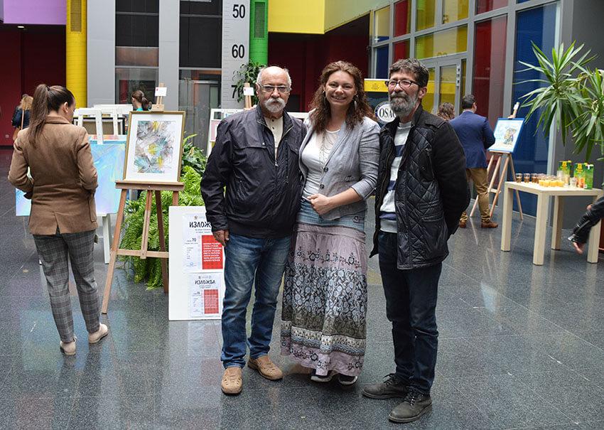 Колективна изложба в Бизнес Парк София