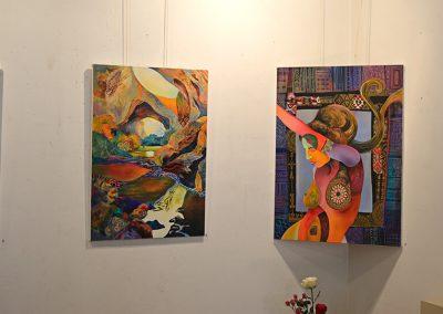 Изложба Синьо Безвремие