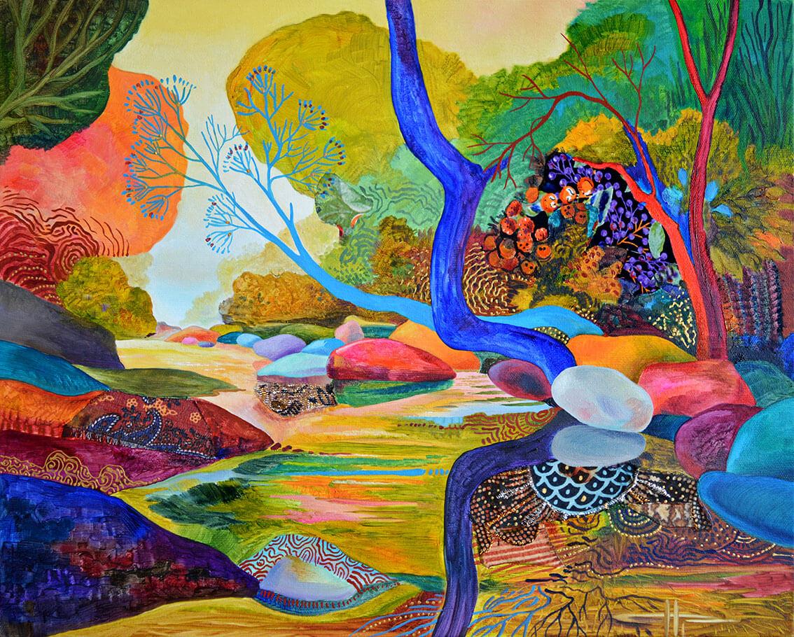 Река в гората