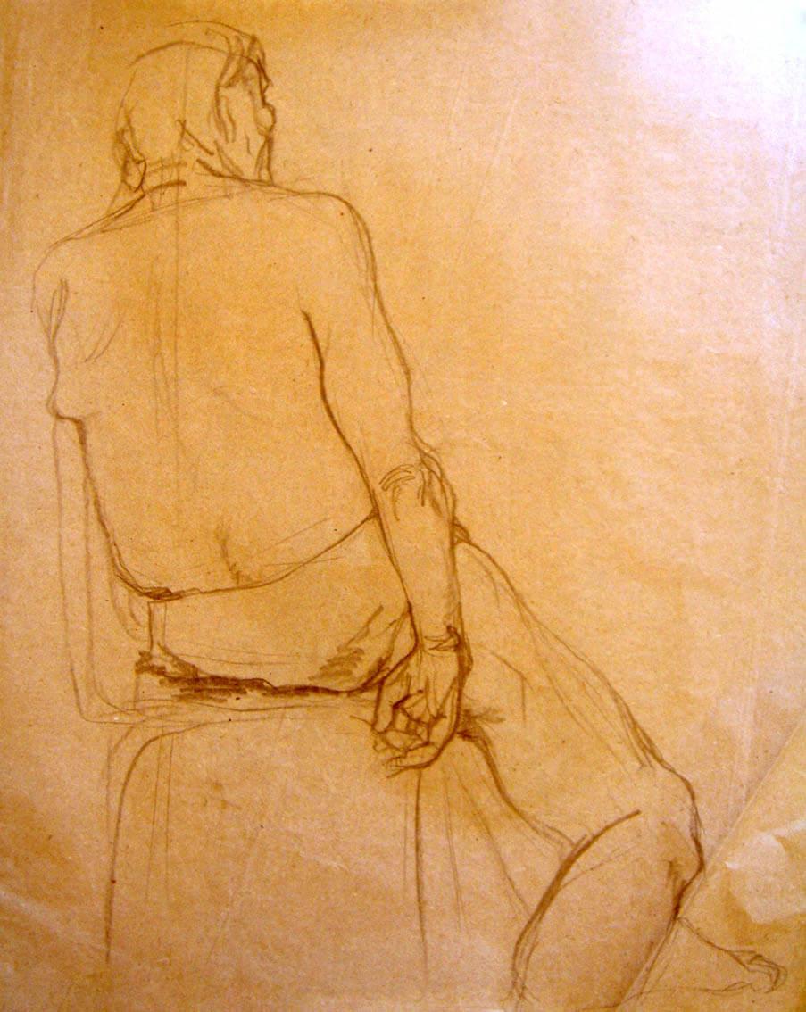 Рисунка на мъжка фигура
