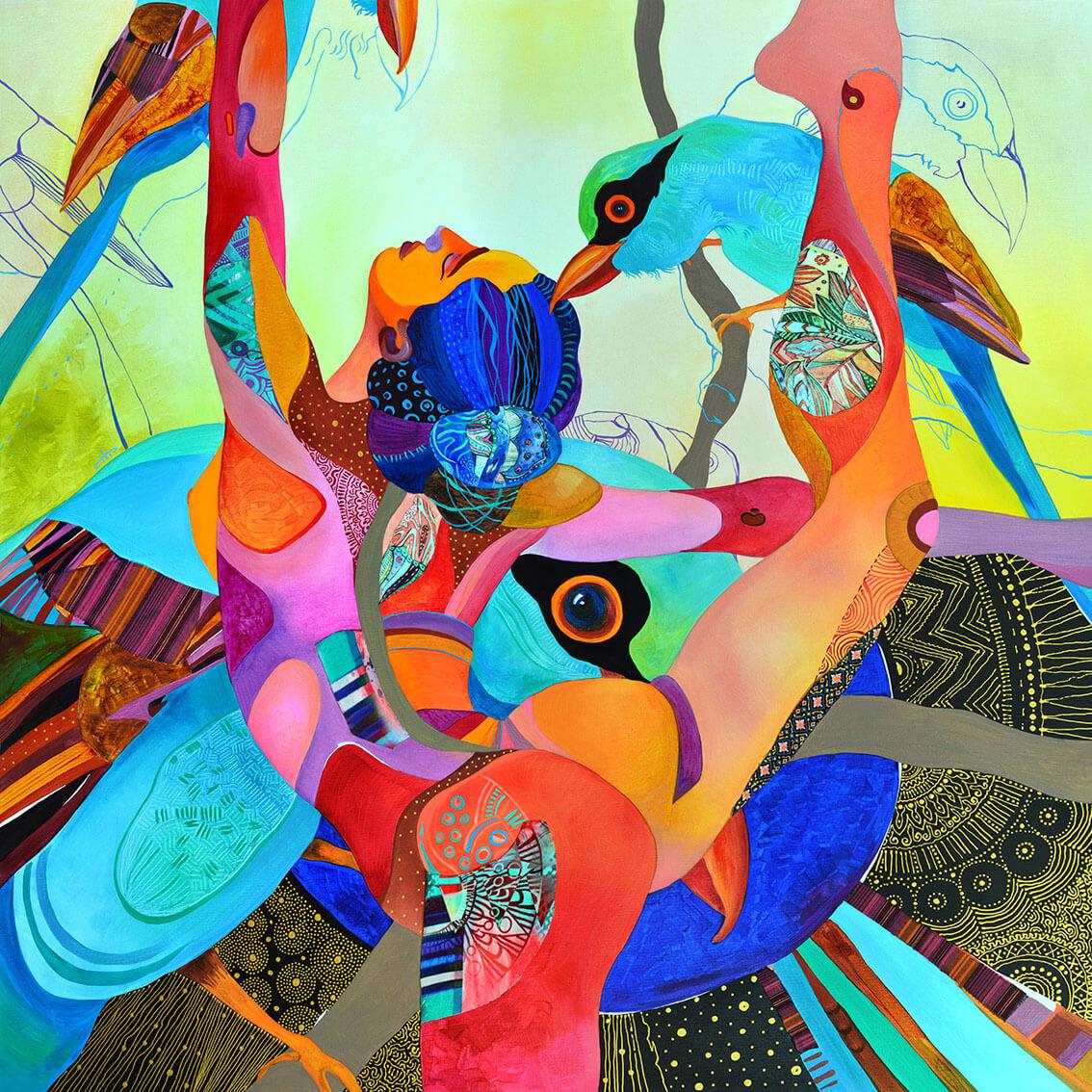 Танц с птици