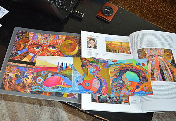 Каталози с материали за бюлетин за творчеството на Силвия Павлова