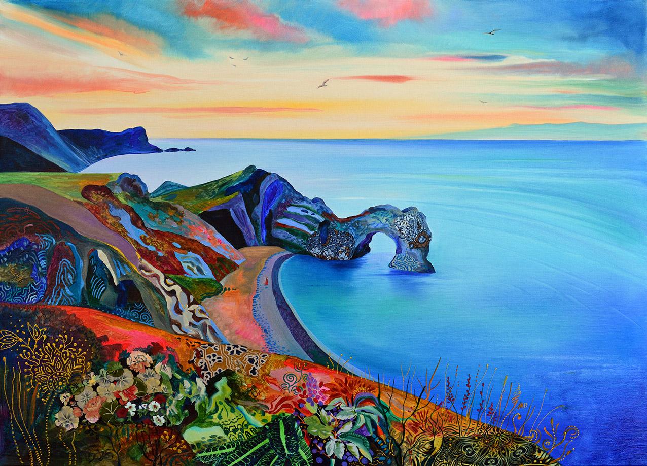 Картината Морето, което ме очаква